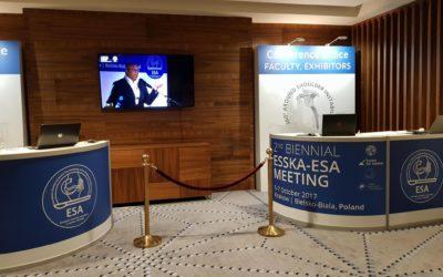 Επίσκεψη στη 2η Biennial ESSKA ESA Meeting 2017
