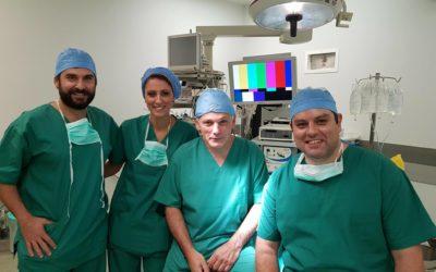 Εγκαινιάζοντας το 1ο Σεμινάριο Χειρουργικής Άνω Άκρου στη Θεσσαλονίκη