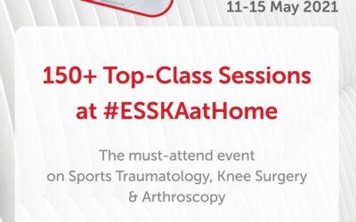 Ομιλίες στην Ευρωπαϊκή Εταιρεία Αθλητικής Τραυματολογίας, Χειρουργικής Γόνατος και Αρθροσκόπησης